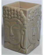 Buddha-duftlampe-grøn