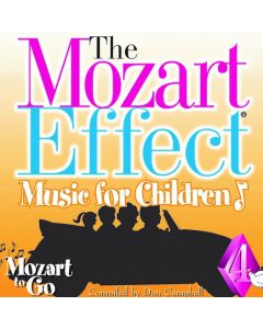 The Mozart for children vol.4-CD
