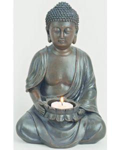 Buddha til fyrfadslys stor