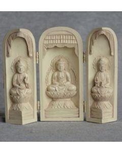 Buddha-Stående-rød