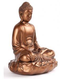 Buddha-LOTUS 29 cm-bronze