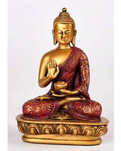 Buddha-hvid-NO FEAR-MUDRA