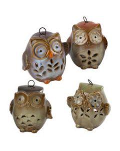 Ugle-sæt-keramik