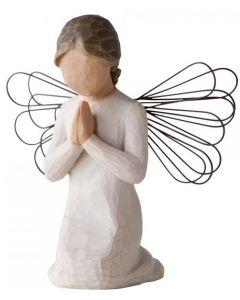 Engel med perle