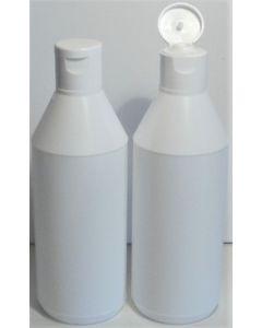 Hvid-plastflaske