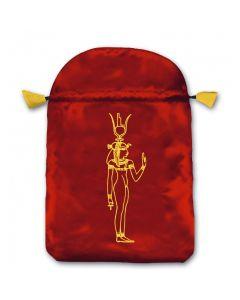 Stofpose i satin - Kleopatra