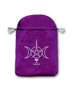 Stofpose i satin - Sensual Wicca