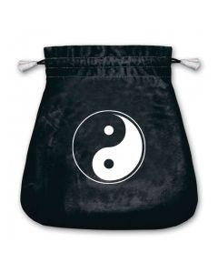 Stofpose i fløjl - Yin og Yan