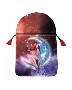 Stofpose i satin - Moon Fairy