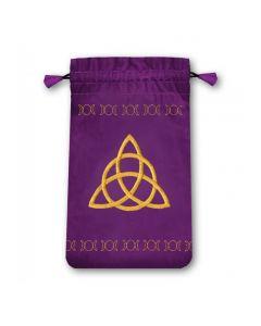 Stofpose i fløjl - Triple Goddess