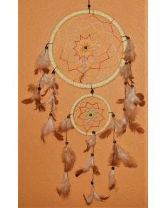 Drømmefanger-med indianer-ulv