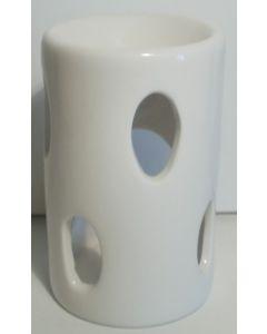 Duftlampe med bladmotiv