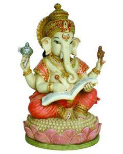 Ganesh 17 cm Skriver MAHABHARATA