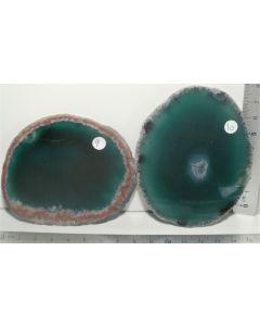 Agat-skive-grøn