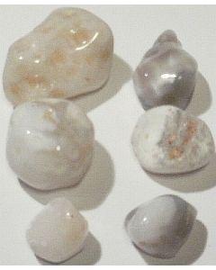 Agat Geode hvid