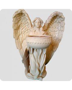engel stående til fyrfadslys