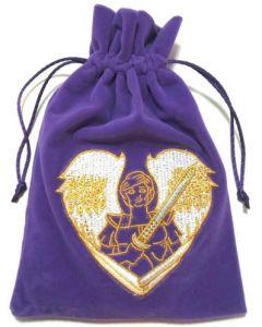 Stofpose i fløjl - Ærkeenglen Michael