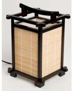 Japansk Lampe - NARA WALNUT/BAMBUS