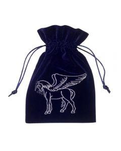 Stofpose i fløjl - Pegasus