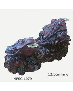 Feng Shui Pengefrø stor