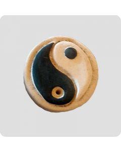 Røgelsesholder med Yin og Yang 2