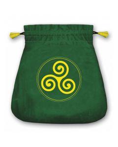 Stofpose i fløjl - Symbol